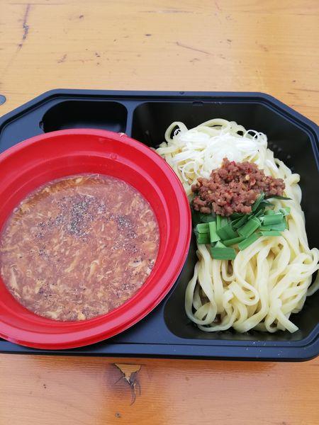 「台湾サンラーつけ麺」@大つけ麺博 美味しいラーメン集まりすぎ祭の写真
