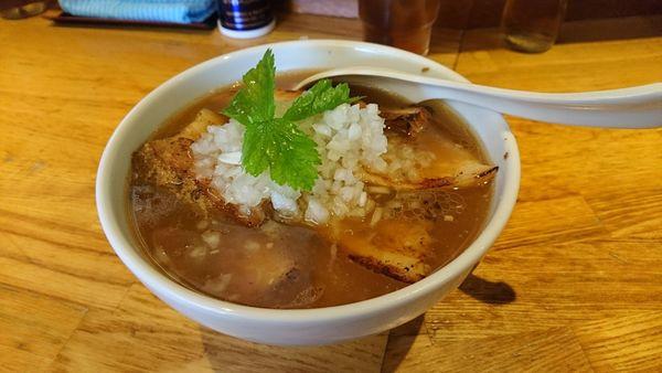 「【昼】煮干し中華そば」@煮干し中華そば三四郎の写真