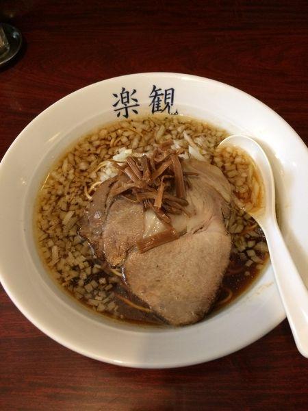 「琥珀750円➕大盛(ランチサービス)」@楽観 武蔵小山の写真