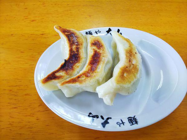 「ぎょうざ」@青竹手打ちラーメン 麺や大山の写真