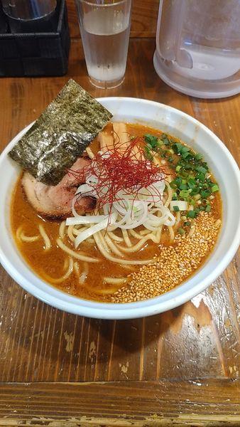 「海老味噌らーめん」@麺屋たつみ 喜心 狭山店の写真