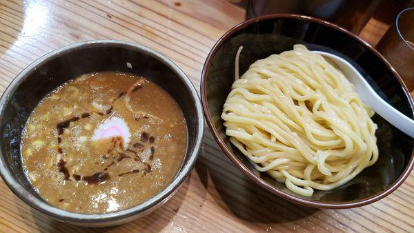 「つけ麺(並)900円」@銀座 朧月の写真