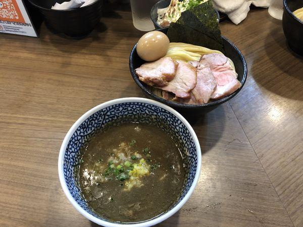 「特製極濃煮干しつけ麺中盛」@煮干しつけ麺 宮元の写真