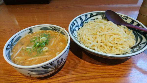 「【昼】仙台味噌のこってりつけ麺」@味噌麺処 伝蔵 渋谷センター街店の写真