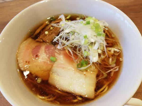 「そば(醤油)」@メンヤ シモヤマの写真