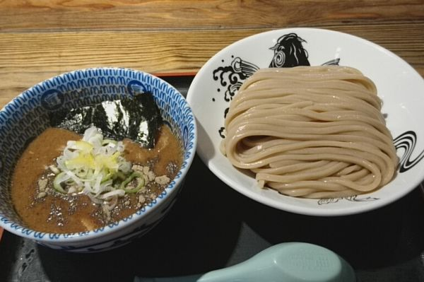 「濃厚つけ麺」@松戸中華そば 富田食堂の写真