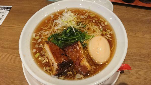 「中華そばあっさり 800円」@びじねす食堂の写真