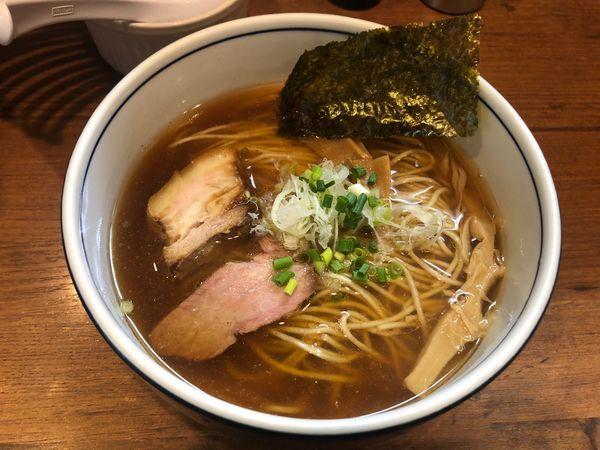 「醤油ラーメン 800円」@麺処 びぎ屋の写真