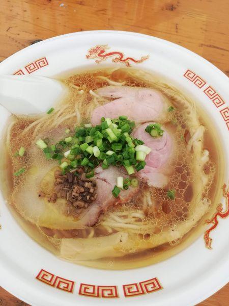 「貝ダシ鶏だし醤油そば」@大つけ麺博 美味しいラーメン集まりすぎ祭の写真