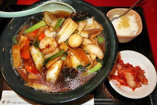 「五目湯麺(単品) 650円」@花彫酒家の写真
