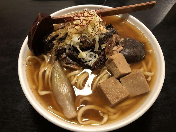 「【限定】にしんラーメン太麺中盛り」@秋田ラーメン はまの写真