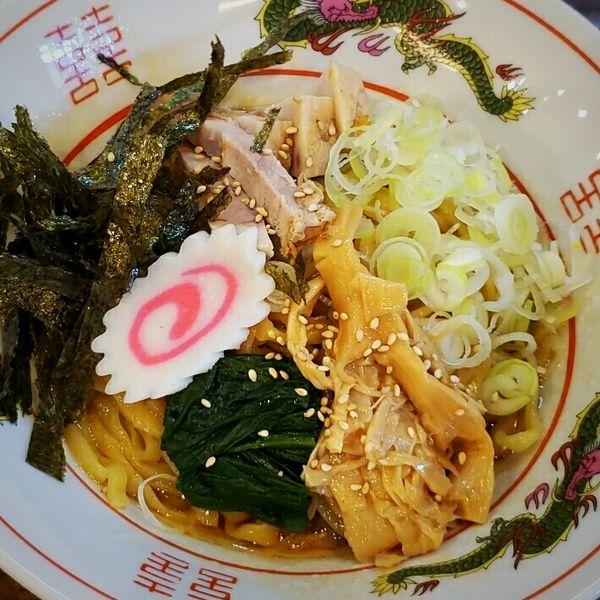 「醤油 八 730円」@麺店 やす八の写真