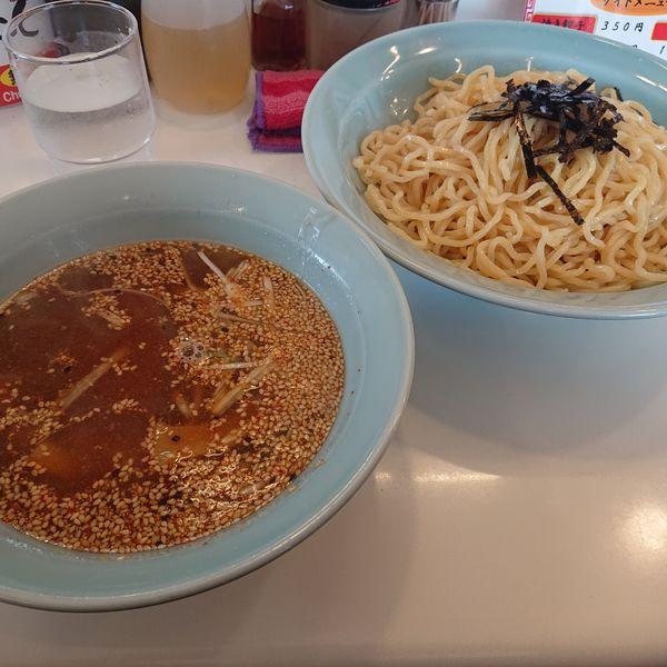 「つけ麺中750円」@ラーメンショップ 天童店の写真
