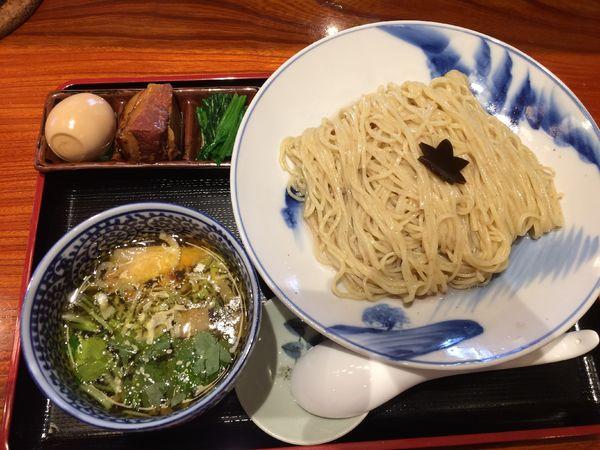 「特製つけそば1050円」@食煅 もみじの写真
