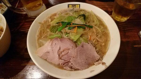 「濃菜麺_820円」@濃菜麺 井の庄の写真