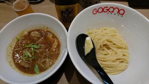 「ホルモンつけ麺並盛_880円」@GaGana RAMENの写真