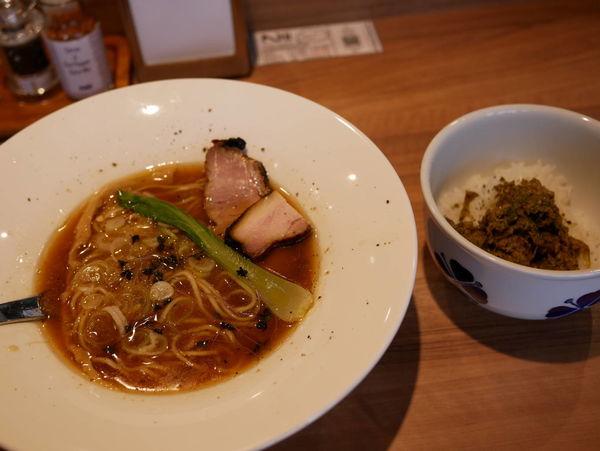 「のどぐろと宇和島産真鯛ラーメン+ドライカレー」@Niiの写真