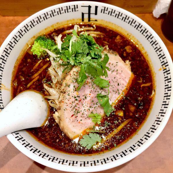 「スパイス・ラー麺 半麺 880」@スパイス・ラー麺 卍力 秋葉原店の写真