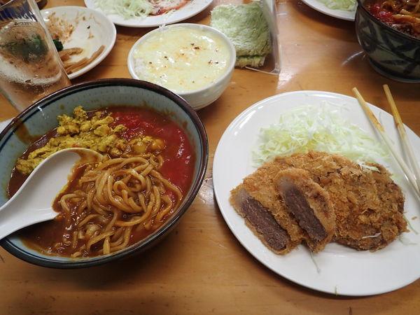 「キーマ風🐤カレー (平打ち麺)S」@MENYA 食い味の道有楽の写真