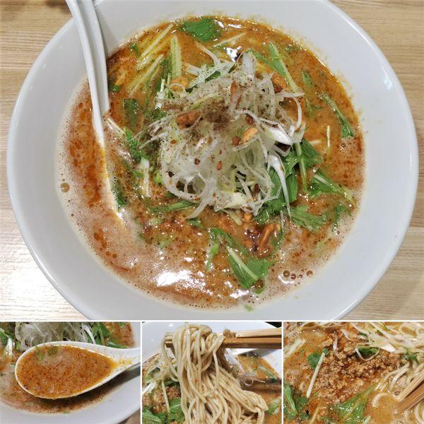 「担々麺 850円」@中華ソバ ビリケンの写真