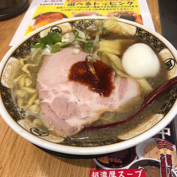 「すごい煮干しラーメン」@すごい煮干ラーメン凪 五反田西口店の写真