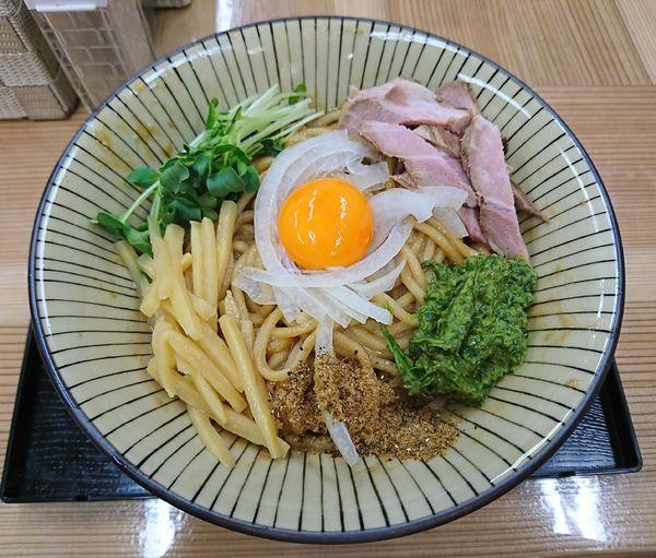 「JJモッシュそば(700円)」@仮麺中(角打ち わかさや)の写真