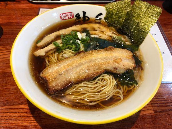 「黒 大盛 780円+100円」@麺昇 神の手の写真