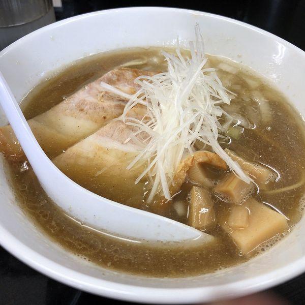 「煮干中華そばNORMAL(800円)」@煮干中華そば のじじR 我孫子の写真