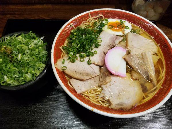 「ねぎ中華蕎麦2.0玉」@かたやまの写真