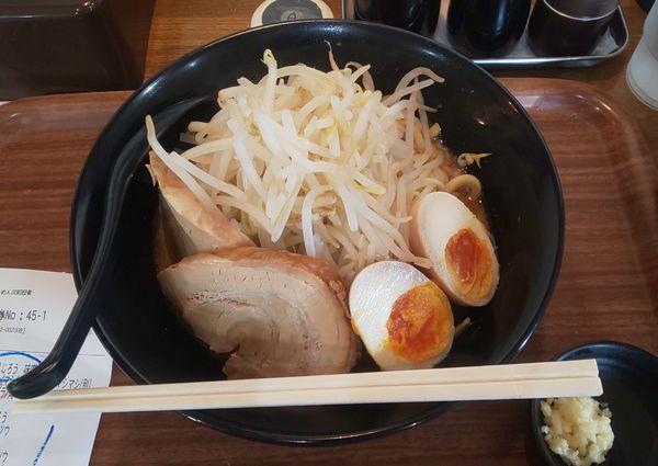 「味玉ぶた2じろう(味噌)」@らーめん次郎冠者 上阿原店の写真