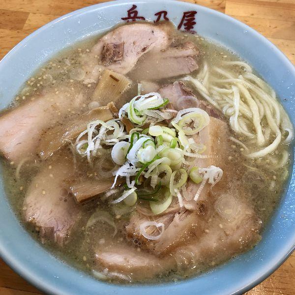「塩チャーシュウメン」@青竹手打麺 餃子 岳乃屋の写真