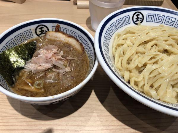 「つけ麺大盛り」@中華そば つけめん 玉 新宿店の写真
