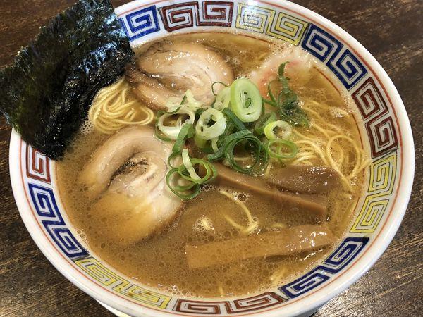 「和歌山中華麺 こってりラーメン」@紀州和歌山ラーメン たかしの写真