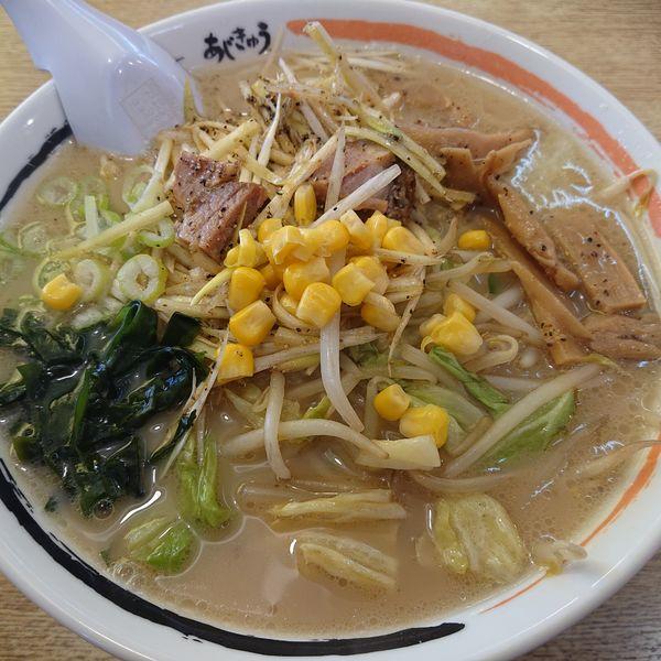 「南蛮野菜ラーメン820円」@ラーメンショップAji-Q 日本海店の写真