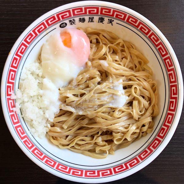「かけ油そば (450円)」@製麺屋慶史 麺ショップ 西月隈の写真