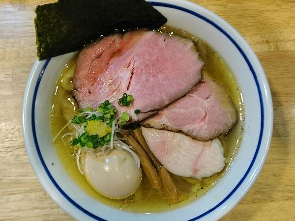 「特製中華そば(塩)」@手打式 超多加水麺 ののくらの写真