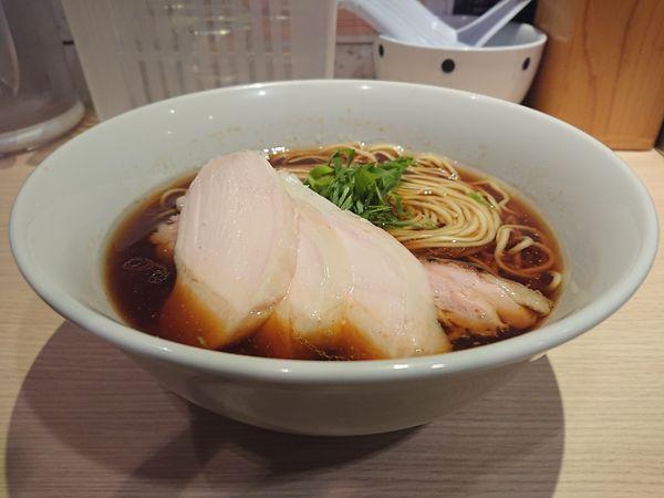 「地鶏そば(醤油)」@麺屋 一燈の写真