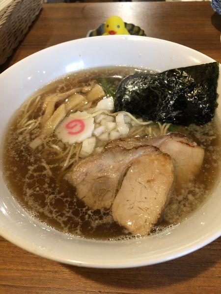「ラーメン¥500+和え麺(生たまご有り)¥200」@麺&cafe Coi.Coi.の写真
