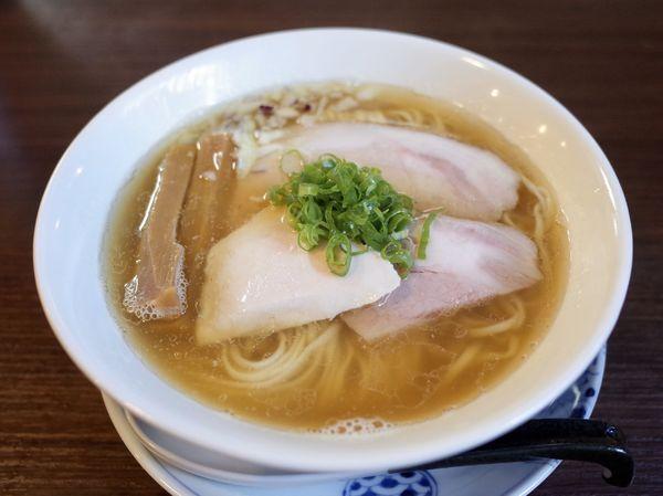 「煮干らぁ麺…900円」@らぁ麺 紫陽花の写真