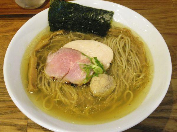 「地鶏 塩(780円)」@自家製麺 純の写真