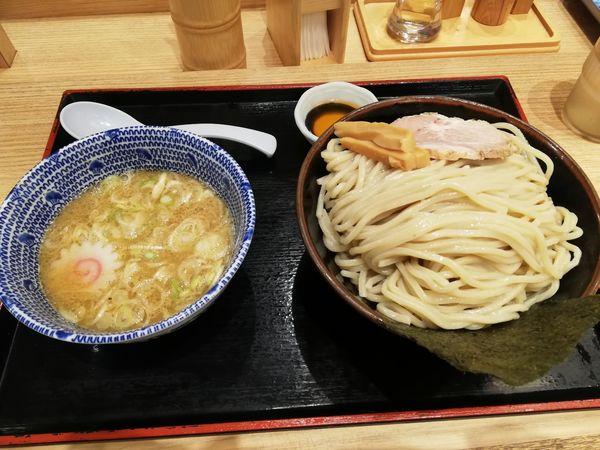 「海老つけめん(大)」@舎鈴 東京サンケイビル店の写真