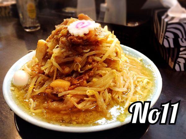 「ラーメン¥850」@自家製麺 No11の写真