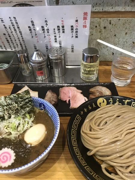 「特製つけ麺(並)」@中華蕎麦うゑずの写真