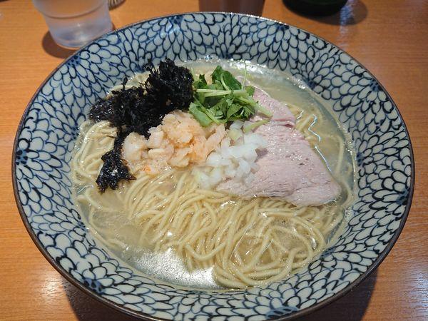 「【限定】鱈や白子や鱈子の潮SOBA900円+ビール」@㐂九八 ~garage~の写真
