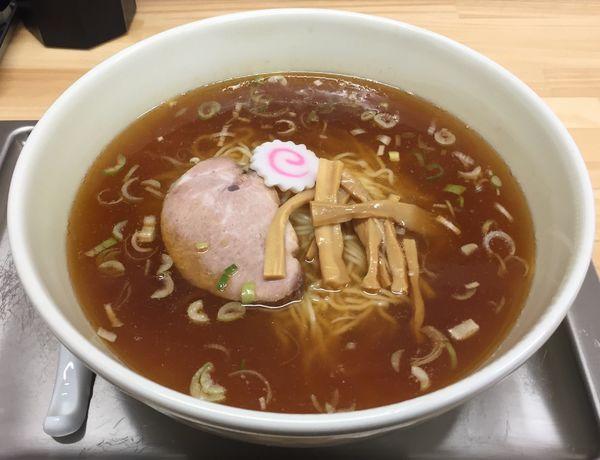 「中華そば(小)750円」@田無大勝軒の写真