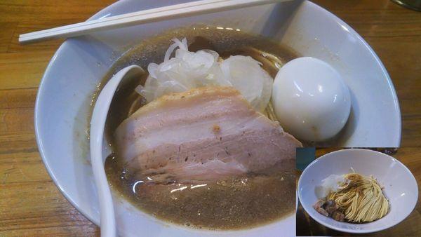 「中華そば+味玉+和え玉」@煮干中華ソバ イチカワの写真