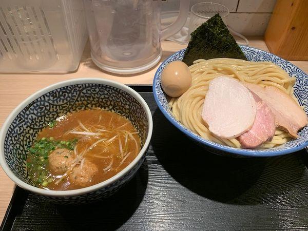 「特製濃厚魚介つけ麺」@麺屋 一燈の写真