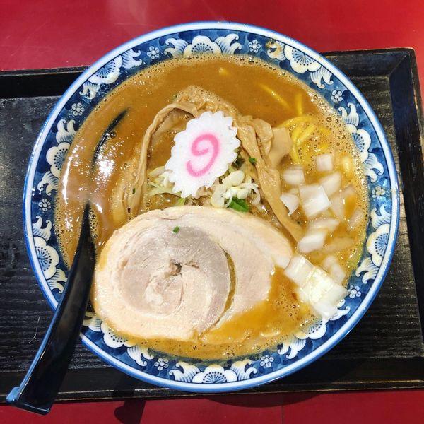 「魚介味噌らぅめん」@麺匠 佐蔵の写真