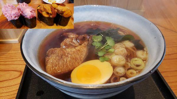 「マグロ醤油ラーメン950円」@すし屋のらーめん 吉祥の写真