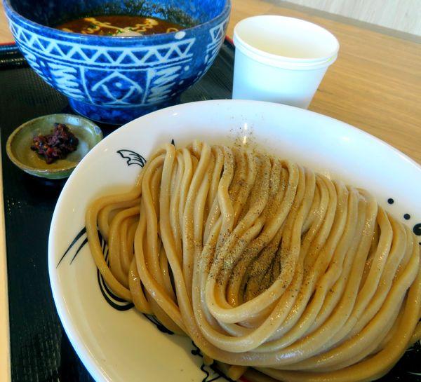「濃厚カレーつけ麵+エビ辛味(1,000円)」@松戸富田麺桜の写真
